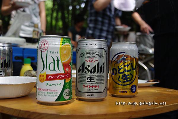 不況につきビールは1本だけ