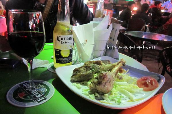 ワイン&スペアリブ